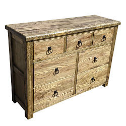 """Дизайнерський дерев'яна яний комод """"Дрейк"""" з масиву"""
