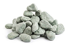 Камень жадеит шлифованный (ведро 10 кг) для электрокаменки, фото 2