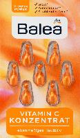 Капсулы для лица Balea Konzentrat Vitamin C, 7 шт