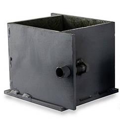 Форма куба ФК-150 металлическая для бетона и цемента (образец 150х150х150 мм)
