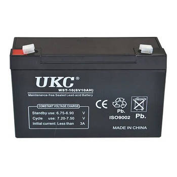 Аккумулятор UKC Battery WST-10 6V 10A