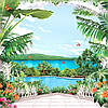 Фотообои, цветы,  Миллениум, 25 листов, 242х350 см