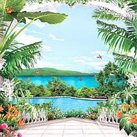 Фотообои, цветы,  Миллениум, 25 листов, 242х350 см, фото 1