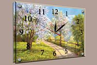 Годинник-картина 30x40 см, під склом