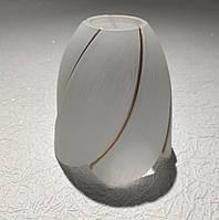 Плафон для люстры диаметр верхнего отверстия 3,5 см высота 10 см