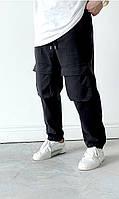 Джинсы с карманами мужские широкие Турция
