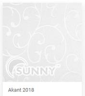 Тканинні ролети ТМ Sunny Akant 2018