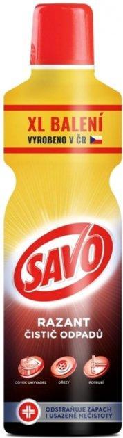 Рідкий гелевий засіб для чищення труб XL SAVO Razant 1,2 л