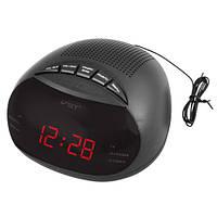 Часы радио VST 901-1 красные, радио FM, 220V
