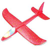 Самолет светящийся, LED подсветка, из пенопласта 47*48см