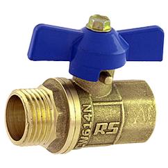 Кран шаровий Econom вода 15(1/2) МП вентиль