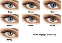 Цветные контактные линзы Adore Bi-Tone