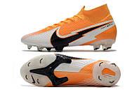 Футбольные бутсы Nike Mercurial Superfly VII Elite FG Laser Orange/Black/White