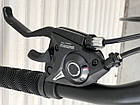 "Спортивний велосипед TopRider 611 колеса 20д / Shimano / рама сталева 13"" / чорно-помаранчевий, фото 2"