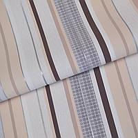 Обои для стен шпалери полоса різнокольорові  винил на флизелине без подбора 1,06x10м.