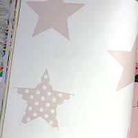 Шпалери для стін паперові на флізелін зірки Graham and Brown Kids&Home Individual 0.53х10м