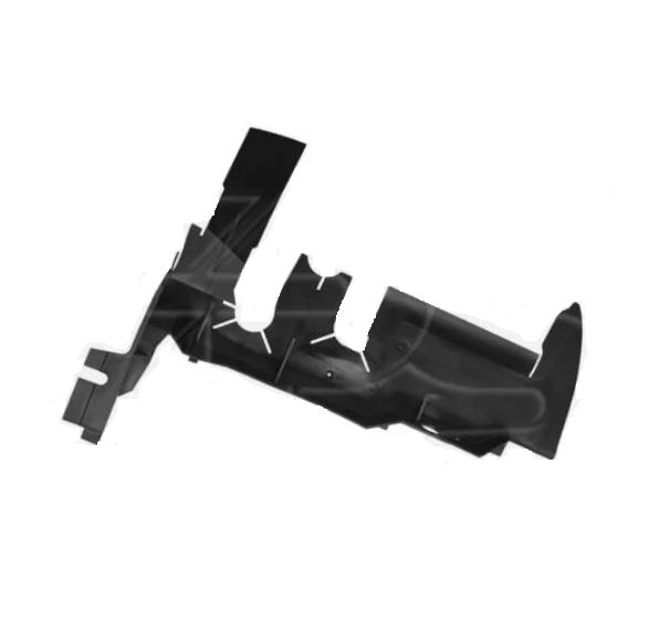 Дефлектор радіатора VW Caddy '04 - правий, пластмас (FPS)