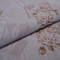 Обои на стену шпалери акрил на паперовій основі квіти  B77,4 7099-08 0,53*10м, ограниченное количество, фото 1