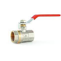 Кран шаровий Econom вода 32 (1 1/4) МП ручка