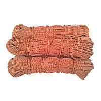 Канат капроновий, ø 3 мм х 25 м. кордовий , трьох прядный, з кордових ниток