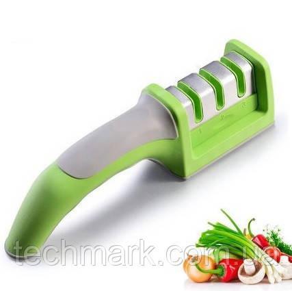 Точилка для ножів Sharpen Професійна триетапна абразивний заточка