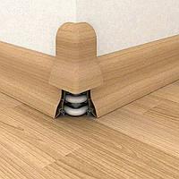 Зовнішній кут зовнішній кут ПВХ для підлоги 2,5 м різного кольору до плінтусу 500-