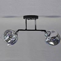 Люстра 2 лампи красиві плафони, фото 1