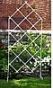 Шпалера садовая  120х60 см. Шпалеры садовые. Шпалеры для сада. Садовые шпалеры для роз. Шпалеры садовые металл - Фото