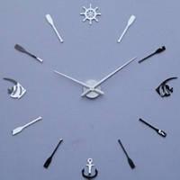 Годинник наклейки, diy clock, дуже красиві, рибки, сині, фото 1