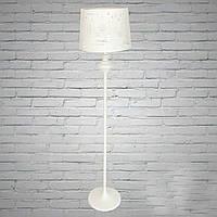 Торшер с абажуром, высота 1.65 см, ширина абажура 35 см, 1 лампа, ЧЕРНЫЙ!!