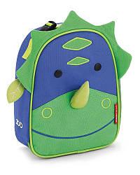 Детская термосумка Skip Hop Zoo lunch bag - Dinosaur (Динозавр), 3+