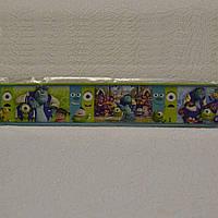 Бордюры для обоев, детские, Корпорации монстров, ширина 5.5 см Ограниченное количество
