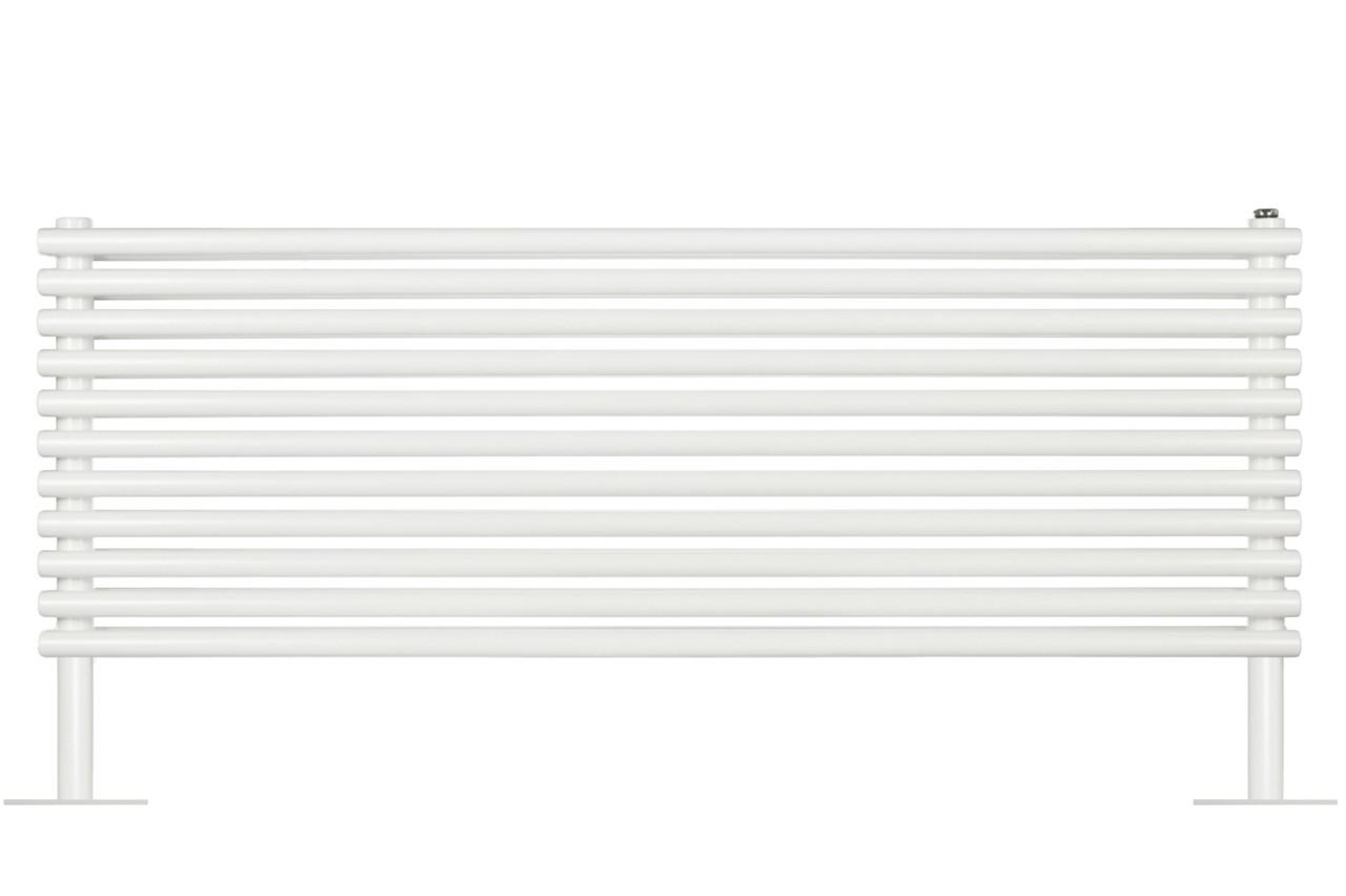 Дизайнерський горизонтальний трубчастий радіатор Betatherm Praktikum на ніжках