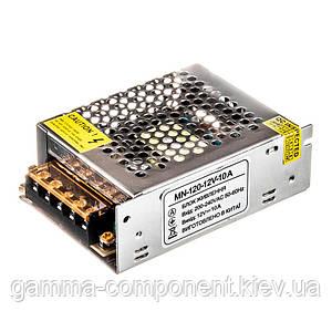 Led блок живлення 12В MN/10A 120 Вт IP 20