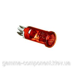 Індикаторна лампа червона MDX-11A 11мм 220V Daier