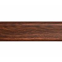 Плінтус для підлоги ПВХ плінтус для підлоги 2,5 м коричневе дерево (Тільки вантажні відділення)