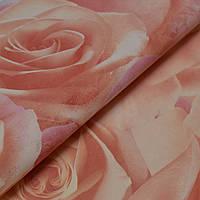 Обои, розы, крупные цветы, обои 3D на стену, винил на флизелине, горячего тиснения, 714-35, 1,06х10м, фото 1