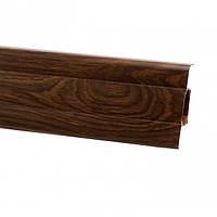 Плінтус для підлоги ПВХ плинтус для пола 2,5 м Венге моколо (Тільки вантажні відділення)