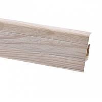 Плінтус для підлоги ПВХ плінтус для підлоги 2,5 м ясний світлий (Тільки вантажні відділення)
