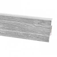 Плінтус для підлоги ПВХ плінтус для підлоги 2,5 м дуб формігаль сірий (Тільки вантажні відділення)