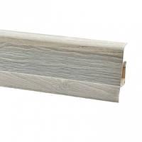 Плінтус для підлоги ПВХ плінтус для підлоги 2,5 м дуб тосколано (Тільки вантажні відділення)
