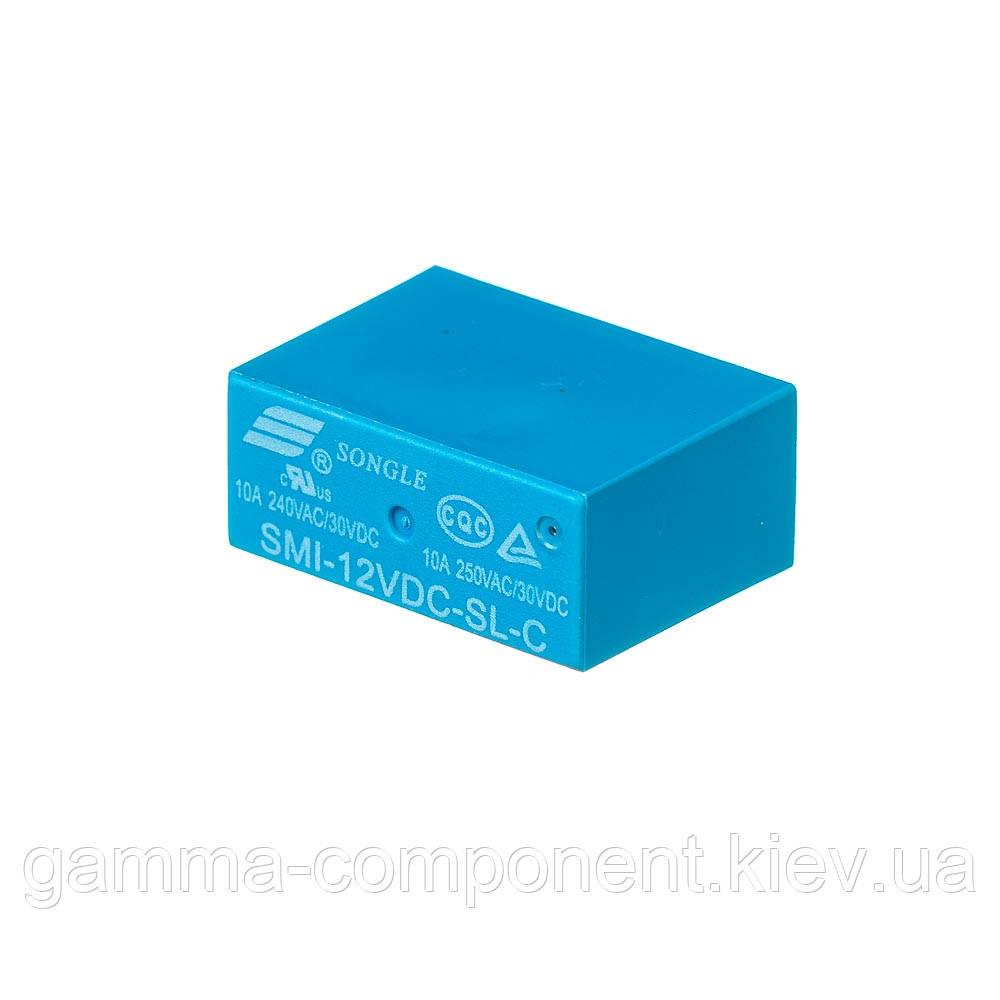 Реле JQX-14F1 (12VDC) струм-10A / контакти-1С