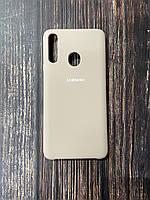 """Чехол Samsung A21s №19 """"Пудра"""" Silicon Case"""