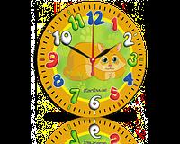 Годинник-картина 33 см, без скла