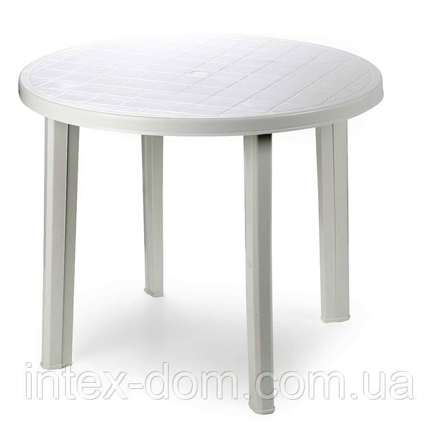 Стол пластиковый Tondo белый киев
