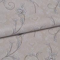 Обои для стен шпалери вініл на паперовій основі квіти 0,53*10