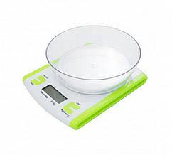Весы кухонные JASM Scales, до 5кг с чашей
