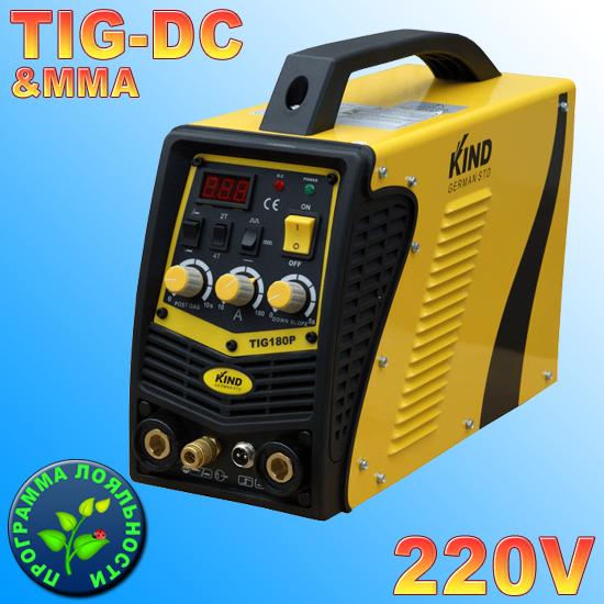 Аргоновая сварка KIND TIG-180P DC