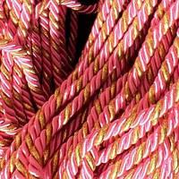 Шнур декоративный для натяжных потолков, розовое золото, 11 мм