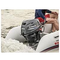 Лодочный мотор Yamaha F25 GMHS - подвесной четырехтактный мотор для яхт и рыбацких лодок 4-5 м, фото 3